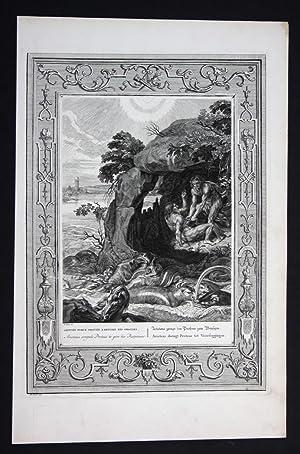 """Aristaeus zwingt den Protheus zum Weissagen"""" - Aristaeus Proteus Greek Aristaios Mythologie ..."""