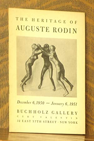 THE HERITAGE OF AUGUSTE RODIN - BUCHHOLZ: Anonymous