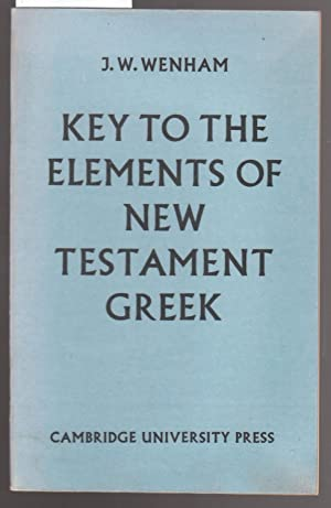 Key to the Elements of New Testament Greek