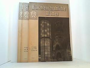 Monatsschrift für den deutschen Burschenschafter. 5 Hefte des Jahrganges 1964 zusammen.: ...