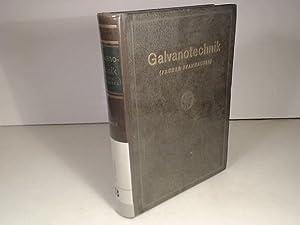 Galvanotechnik (früher Pfanhauser) Band 2 (von 2: Pfanhauser, W.) und