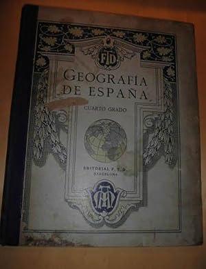GEOGRAFIA DE ESPAÑA Cuarto Grado: Grupo editorial