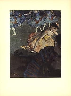 EDGAR DEGAS A Ballet Seen from an: Degas, Edgar