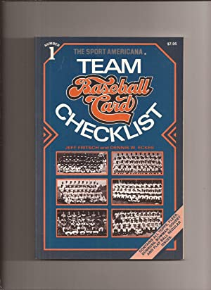 The Sport Americana Team Baseball Card Checklist: Fritsch, Jeff and