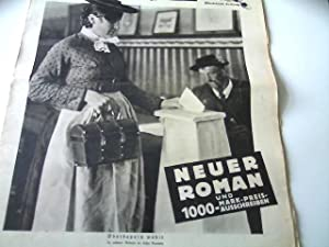 Seller image for Goethes Todestag - als Dichter und Naturwissenschaftler + Atlantis im Film (Bildbericht) . Neue IZ Illustrierte Zeitung (früher Hackebeils I.Z.), 24. März 1932 (Nr.13), 8. Jahrgang, Titelbild: Oberbayern wählt, for sale by Agroplant GmbH