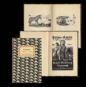 Bilder-Rätsel in Holz-Stichen. 1.-10. Tsd.: Insel-Bücherei Nr. 219