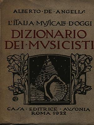 Dizionario dei musicisti: De Angelis, Alberto