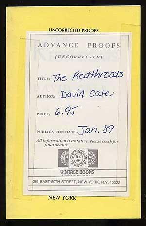 The Redthroats: CALE, David