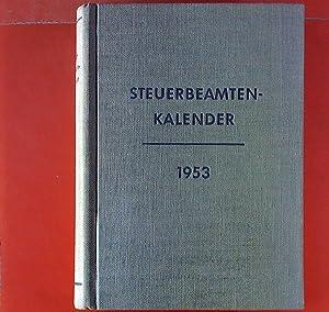 Steuerbeamtenkalender 1953.: Hermann Fredersdorf