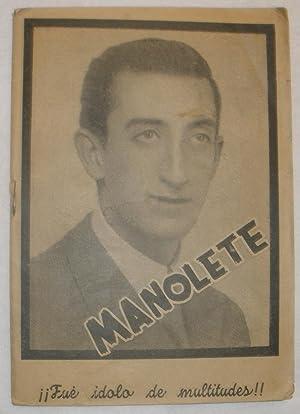 Manolete.: Francisco Tijeretas Gómez.