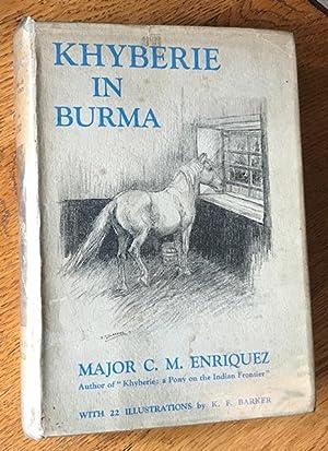Khyberie in Burma: ENRIQUEZ, MAJOR C