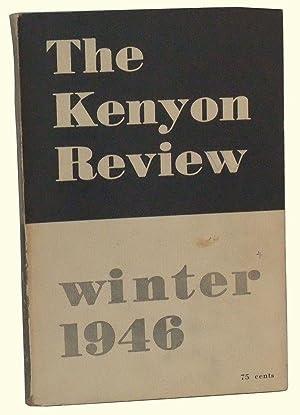 The Kenyon Review, Vol. 8, No. 1: Ransom, John Crowe