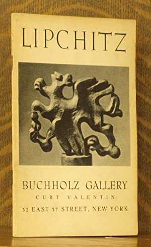 JACQUES LIPCHITZ - EARLY STONE CARVINGS AND: Essay by Marsden