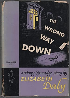 The Wrong Way Down [A Henry Gamadge Story]