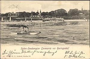 Ansichtskarte / Postkarte Ostseebad Heringsdorf auf Usedom,