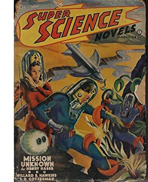 SUPER SCIENCE Novels: May 1941: Super Science (Henry