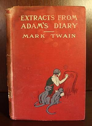 Extracts From Adam's Diary: Mark Twain (Samuel