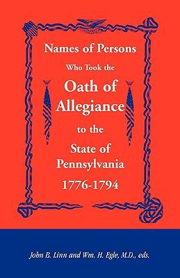 Names of Persons Who Took the Oath: Linn, John B.