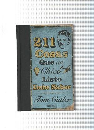 211 cosas que un chico listo debe: Tom Cutler