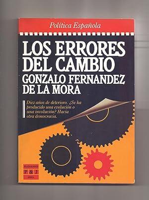 LOS ERRORES DEL CAMBIO: Gonzalo Fernandez de