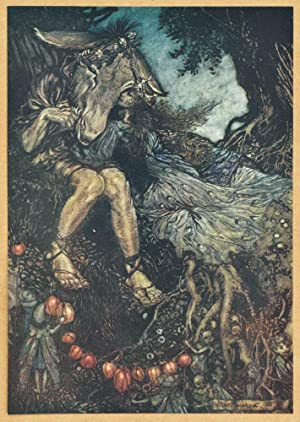 Midsummer Nights Dream VI Arthur Rackham 1908 Art Print A4 A3 A2 A1