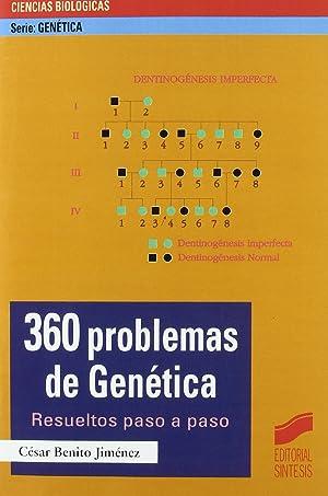 Imagen del vendedor de 360 problemas de genética a la venta por Imosver