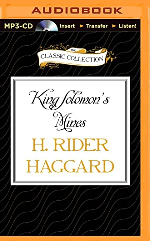 King Solomon'S Mines (Compact Disc): H. Rider Haggard