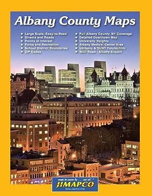 Albany County Maps (Paperback or Softback): Jimapco Inc