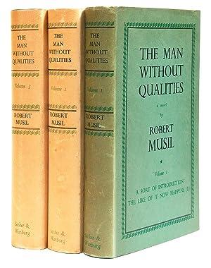 Der Mann ohne Eigenschaften] The Man without: MUSIL, Robert (1880-1942)