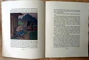 Maria Chapdelaine. Illustrations de Clarence Gagnon.: Hémon (Louis).