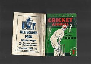 News Chronicle CRICKET Annual 1938: Frank Thorogood