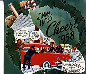They'll Do It Every Time 1958 Calendar-Jimmy Hailo RARE
