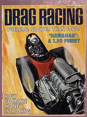 DRAG RACING 8/69-EXHAUST TUNING-FUNNY CAR VG