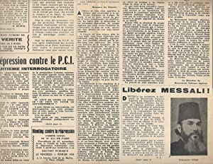 Organe de Défense des Travailleurs. Parti Communiste Internationaliste - Section Francaise de la ...