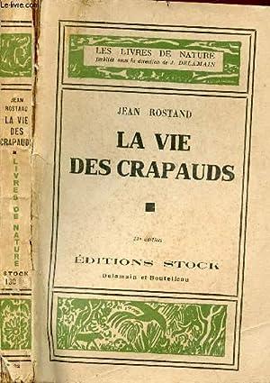 LA VIE DES CRAPAUDS: ROSTAND JEAN