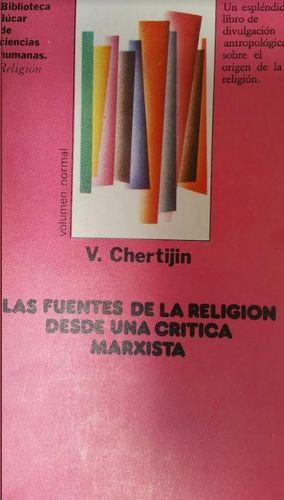LAS FUENTES DE LA RELIGION DESDE UNA: V.CHERTIJIN