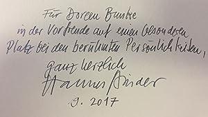 Bild des Verkäufers für Der Wegwerfer. Mit Filmschabzeichnungen von Hannes Binder. zum Verkauf von Bührnheims Literatursalon GmbH
