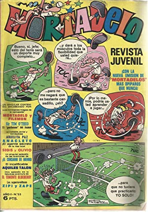 Mortadelo. Revista Juvenil Año II Nº 53: F. Ibañez