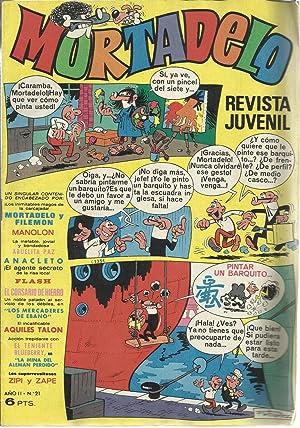 Mortadelo. Revista juvenil Año II Nº 21: F. Ibañez