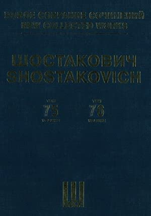 New collected works of Dmitri Shostakovich.Vol. 75-76. Motherland, My Native Leningrad (1942). Su...