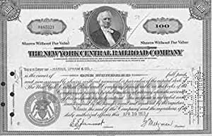 Certificate of 100 Full-paid and Non-assessable Shares: The New York