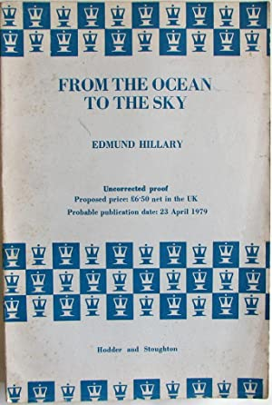 From the Ocean to the Sky UNCORRECTED PROOF