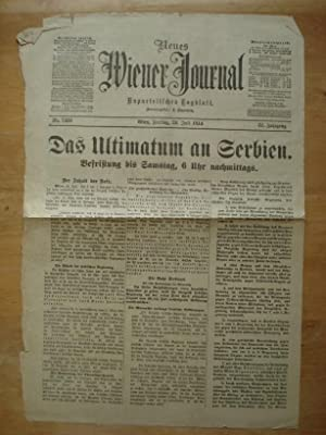 Neues Wiener Journal - Unparteiisches Journal - Wien, Freitag den 24. Juli 1914