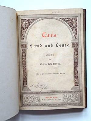 Tunis. Land und Leute: Hesse-Wartegg, Ernst von