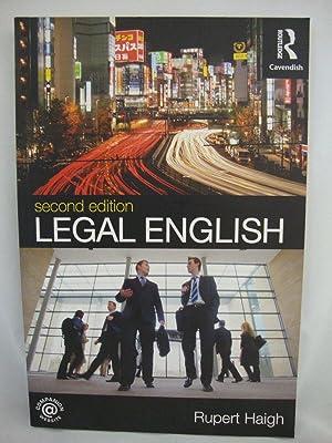 Legal English: Haigh, Rupert