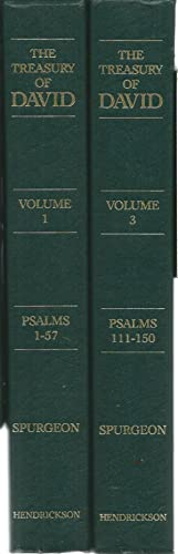 The Treasury of David. Volume One: Psalm: Spurgeon, C.H.