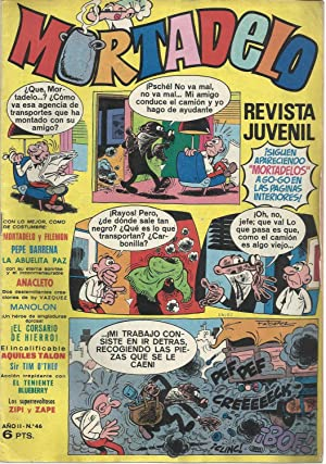 Mortadelo. Revista juvenil. Año II. Nº 46: F. Ibañez