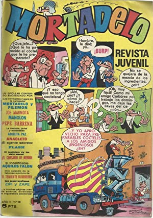 Mortadelo. Revista Juvenil. Año II. Nº 18: F. Ibañez