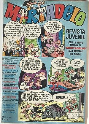 Mortadelo. Revista juvenil Añoo II Nº 47: F. Ibañez