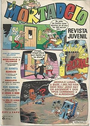 Mortadelo. Revista Juvenil. Año II Nº 15: F. Ibañez